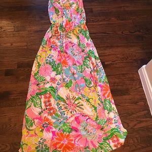 Lilly Pulitzer Maxi Dress size XXL BEAUTIFUL ON!
