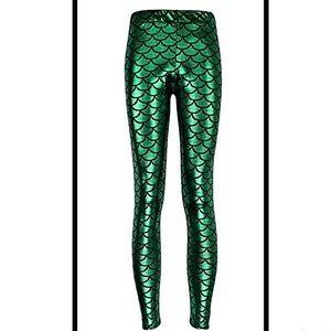 Pants - 🐠Green Mermaid Leggings