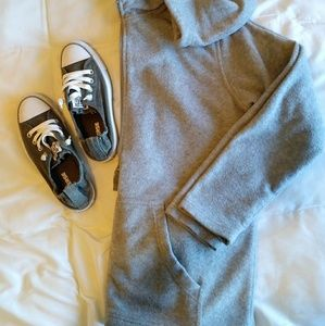 Light Gray Fleece Jacket