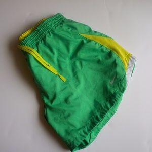 "Nike Women's Green Shorts ""Norts"" Size L"