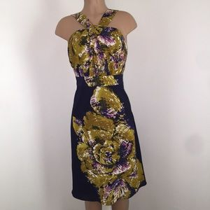 The Limited halter neck floral dress