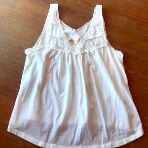 White Hollister shirt