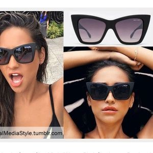 Quay x Shay Mitchell Vesper Sunglasses with case