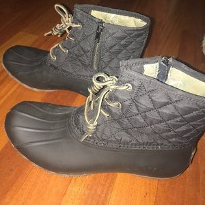 Sperry Quilted Boots