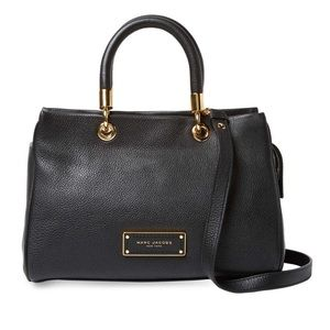 Marc Jacobs Too Hot To Handle Satchel (Black)