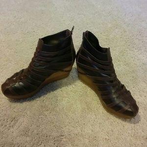 Gladiator booties