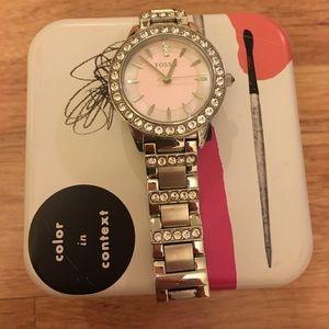 Women's Fossil Watch (needs battery!)