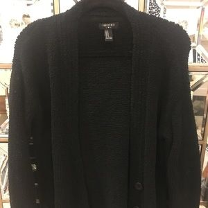 Cartigan soft and comfy black