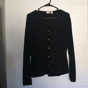 Merona black Cardigan