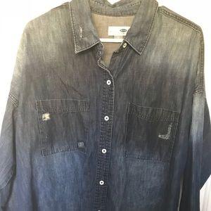 Old navy boyfriend shirt