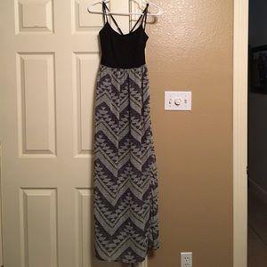 Nordstroms Mimi Chica Long spaghetti strap dress