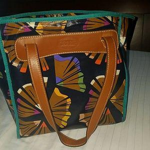Fossil Keyper Shopper shoulder purse