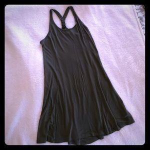Olive Green Racerback Dress Sz L