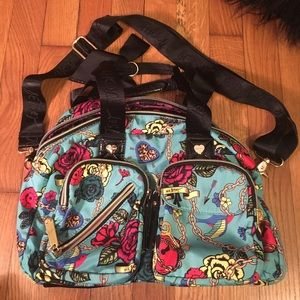 Betsy Johnson crossbody/travel bag