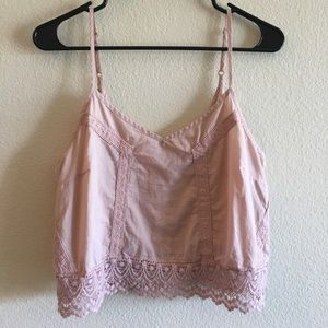 Blush Crop Top from Pacsun
