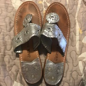 Jack Rogers Silver