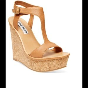 Steve Madden ILUVIT Cork Wedge
