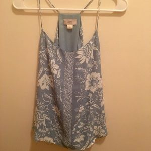 Blue and White Loft Tanktop