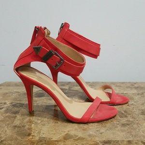 Zara Trafaluc red heels