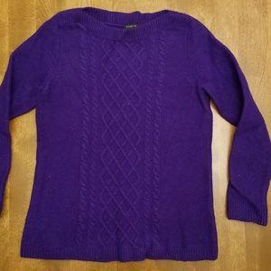 Purple Talbots Sweater