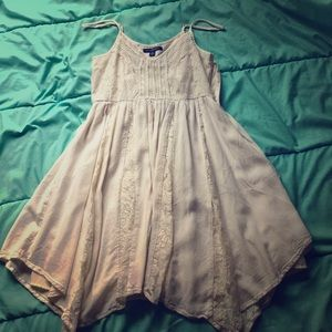 Lace white dress(will negotiate price)