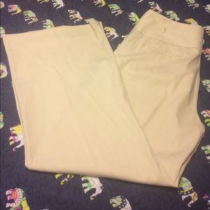 Beautiful cream colored dress pants