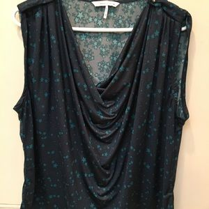 French Connection dressy sleeveless top size XL