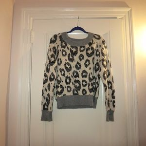 Gap warm cheetah sweater