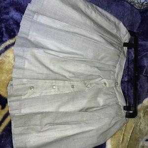 BCBG button up skirt