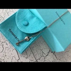 Tiffany & Co Heart Lock Necklace with Diamond