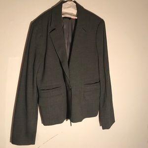 BCBGMAXAZRIA Gray suit jacket