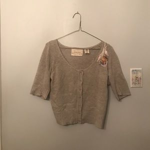 Coincidence & Chance sequin sweater Sz M