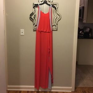 Beautiful red evening Maxi Dress by BCbG - NWT!