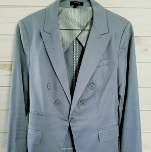 Light grey Express blazer