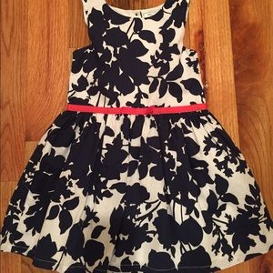 Carter's sleeveless floral print dress. Size 3T.