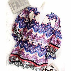 Collective Concepts Aztec Patterned Dress