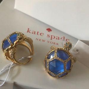 Kate Spade Turtle Ring 8