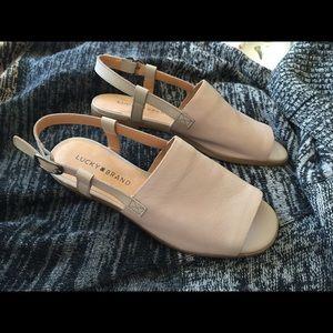 Lucky Brand Flat Sandals 6.5 NEW