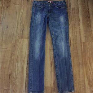 H&M Squin Fit Jeans