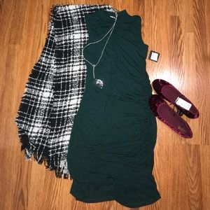 Halogen NWT❗️Mock Neck Stretch Layering Dress