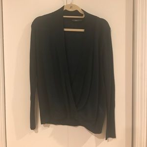 Draped ZARA sweater