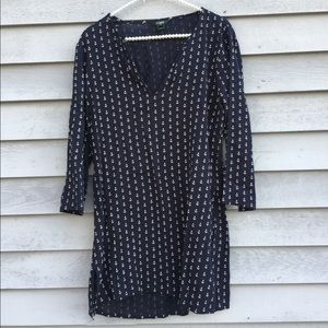 NWOT J Crew Anchor Tunic Beach Cover Up