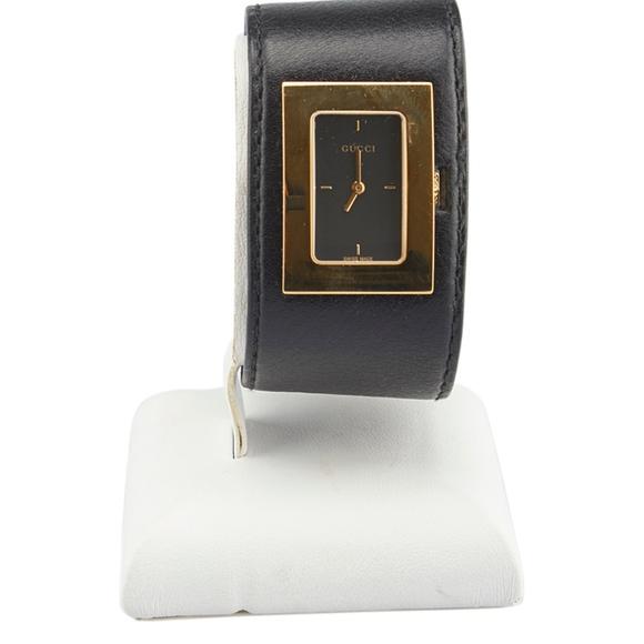 1c8b4a578c2 Gucci Accessories - Gucci 7800L Black Leather Watch (136044)