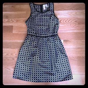 MIMI CHICA Black + White A-Line Dress (Nordstrom)