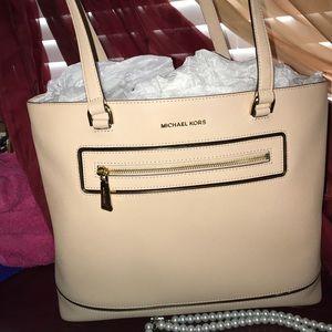 Michael Kors frame out handbag