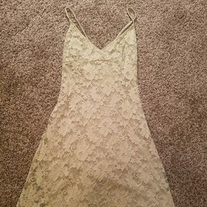 Vintage Hugo Buscati Collection Lace Dress S