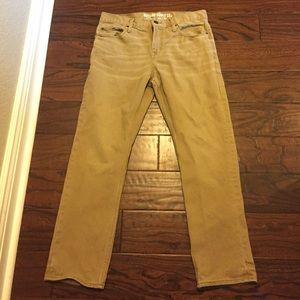 Make an offer! Khaki slim straight pants