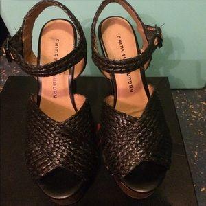 Chinese Laundry wedge platform sandals