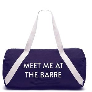"Private Party🎉🎉""Meet me at the Barre"" Gym Bag"