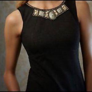 CAbi jeweled neck top
